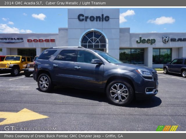 2014 GMC Acadia SLT in Cyber Gray Metallic