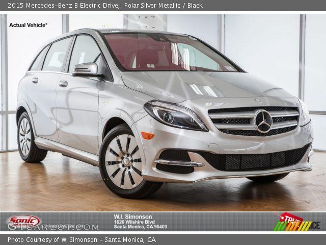 2015 Mercedes-Benz B Electric Drive in Polar Silver Metallic