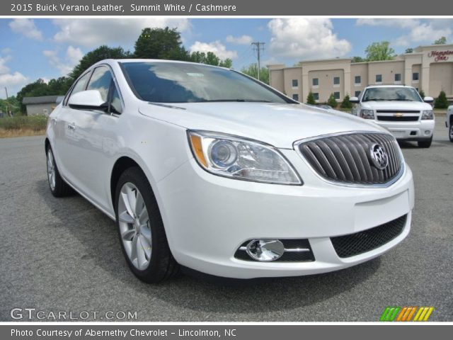2015 Buick Verano Leather in Summit White