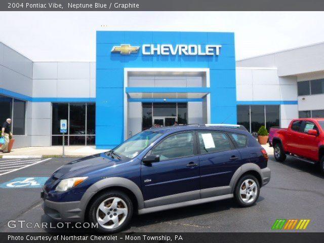 2004 Pontiac Vibe  in Neptune Blue