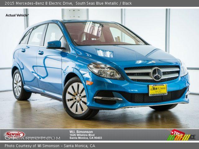 2015 Mercedes-Benz B Electric Drive in South Seas Blue Metallic