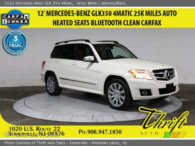 2012 Mercedes-Benz GLK 350 4Matic in Arctic White
