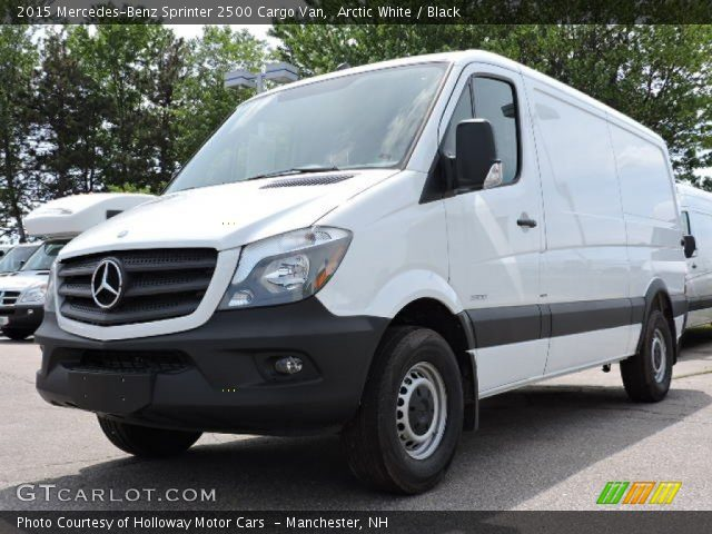 2015 Mercedes-Benz Sprinter 2500 Cargo Van in Arctic White