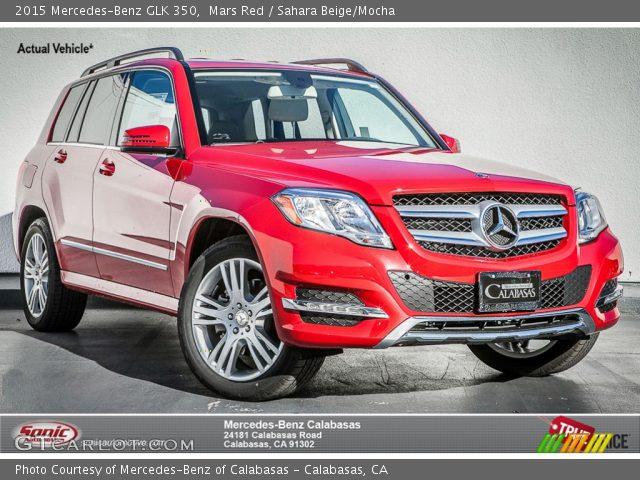 2015 Mercedes-Benz GLK 350 in Mars Red
