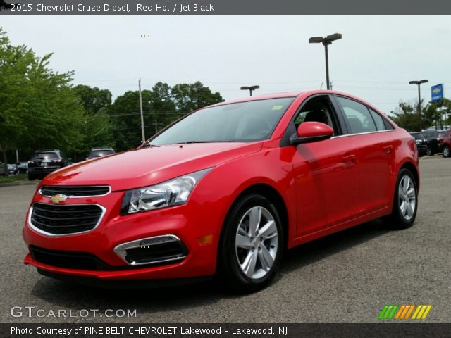 2015 Chevrolet Cruze Diesel in Red Hot