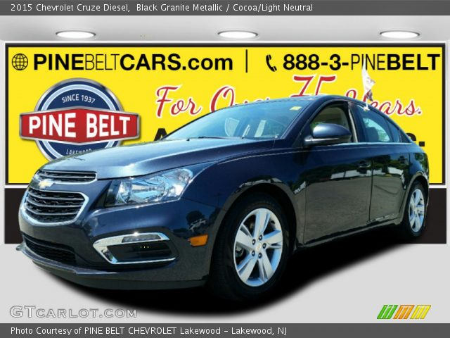 2015 Chevrolet Cruze Diesel in Black Granite Metallic