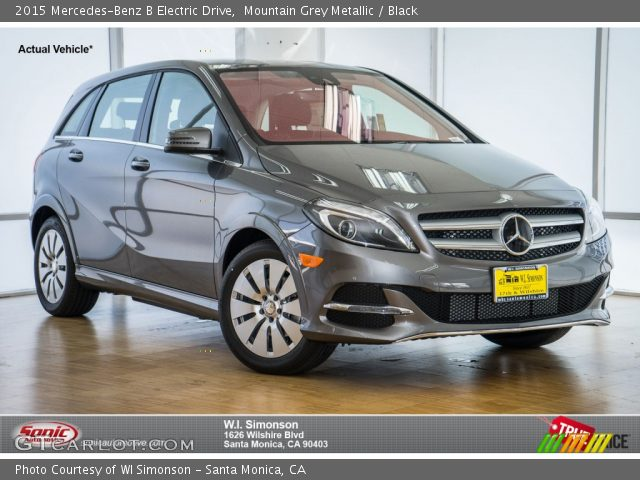 2015 Mercedes-Benz B Electric Drive in Mountain Grey Metallic