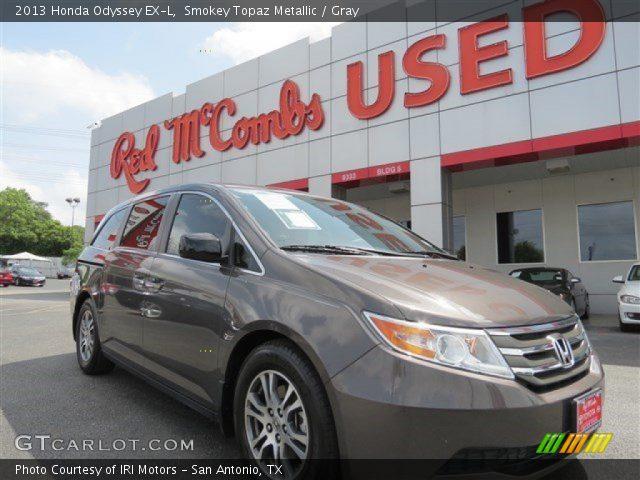 2013 Honda Odyssey EX-L in Smokey Topaz Metallic