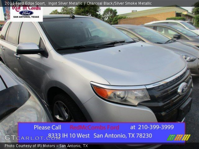 2011 Ford Edge Sport in Ingot Silver Metallic