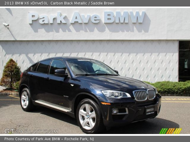 carbon black metallic 2013 bmw x6 xdrive50i saddle. Black Bedroom Furniture Sets. Home Design Ideas