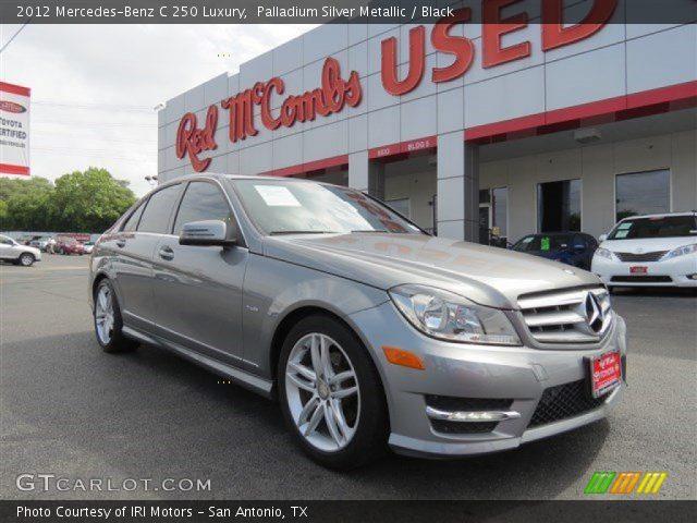 2012 Mercedes-Benz C 250 Luxury in Palladium Silver Metallic