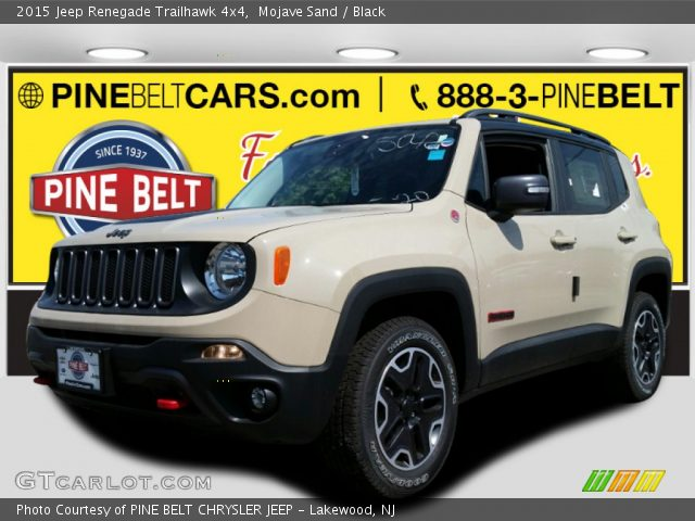 2015 Jeep Renegade Trailhawk 4x4 in Mojave Sand