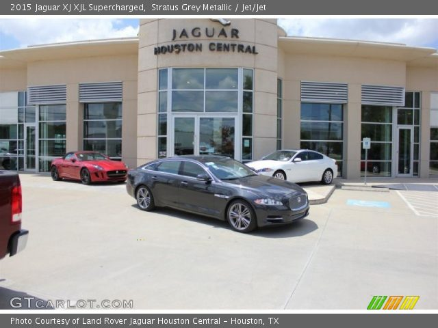 stratus grey metallic 2015 jaguar xj xjl supercharged. Black Bedroom Furniture Sets. Home Design Ideas