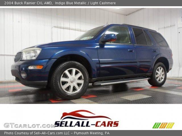 2004 Buick Rainier CXL AWD in Indigo Blue Metallic