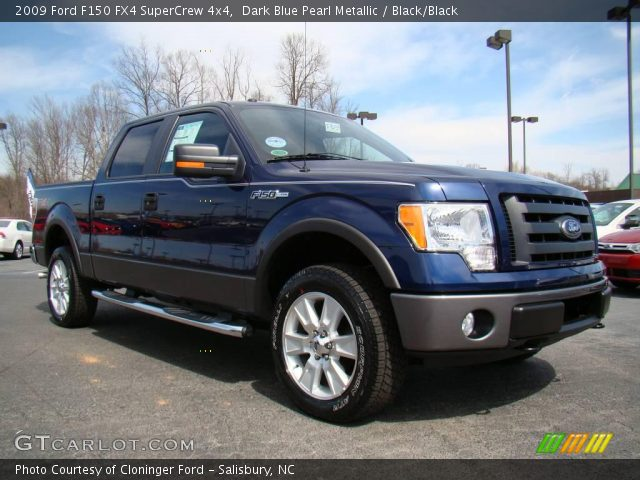 dark blue pearl metallic 2009 ford f150 fx4 supercrew. Black Bedroom Furniture Sets. Home Design Ideas