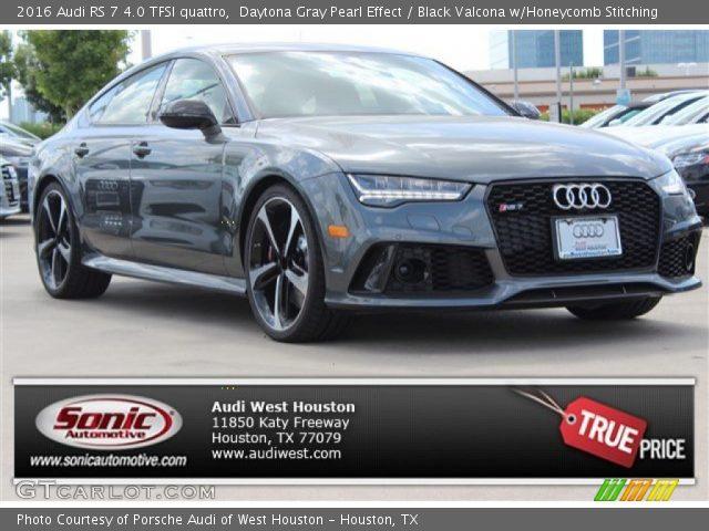 2016 Audi RS 7 4.0 TFSI quattro in Daytona Gray Pearl Effect