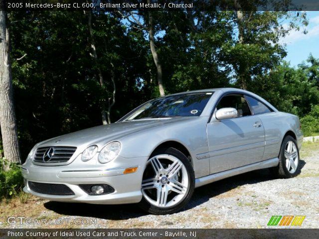 2005 Mercedes-Benz CL 600 in Brilliant Silver Metallic