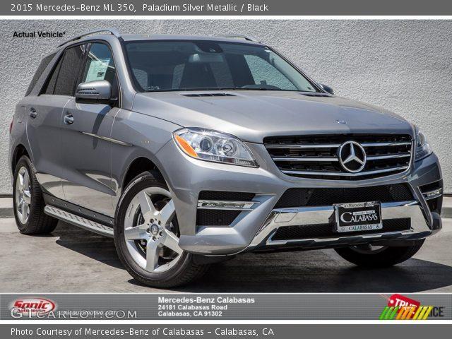2015 Mercedes-Benz ML 350 in Paladium Silver Metallic