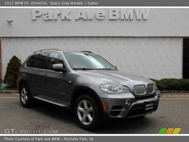 space gray metallic 2012 bmw x5 xdrive50i oyster interior vehicle archive. Black Bedroom Furniture Sets. Home Design Ideas