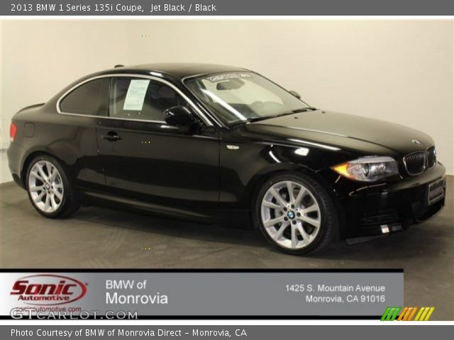 2013 BMW 1 Series 135i Coupe in Jet Black