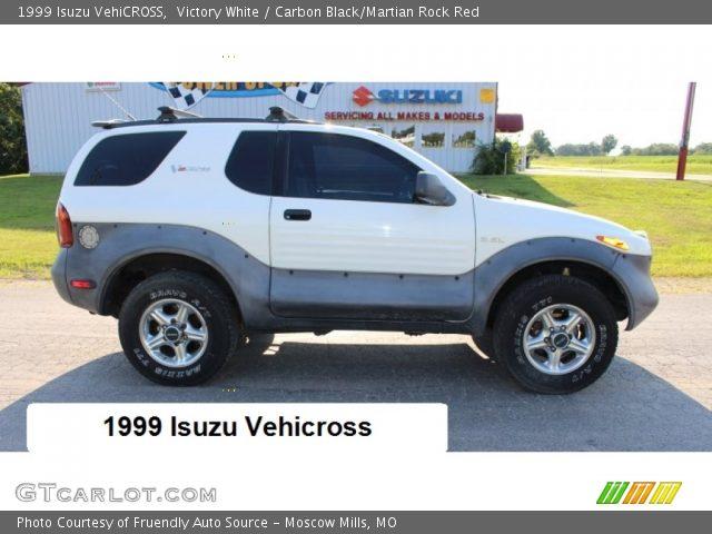 1999 Isuzu VehiCROSS  in Victory White