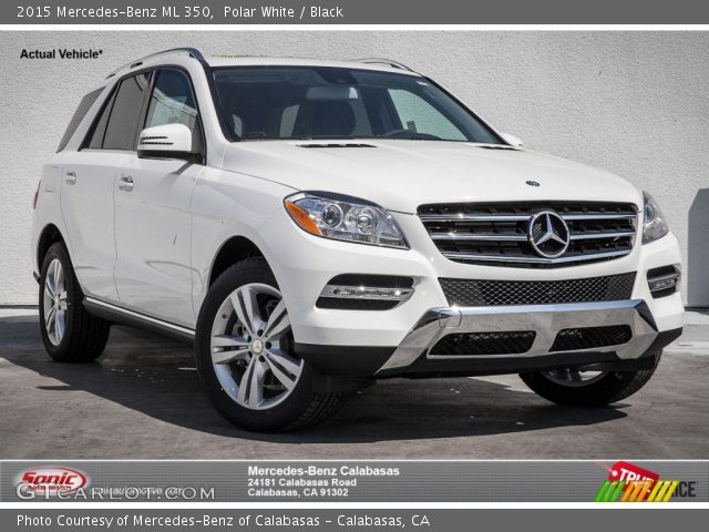 2015 Mercedes-Benz ML 350 in Polar White