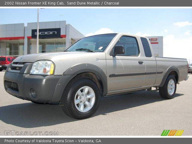Sand Dune Metallic 2002 Nissan Frontier Xe King Cab Charcoal Interior