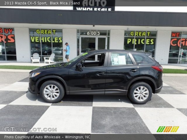 2013 Mazda CX-5 Sport in Black Mica