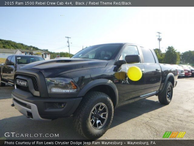 2015 Ram 1500 Rebel Crew Cab 4x4 in Black