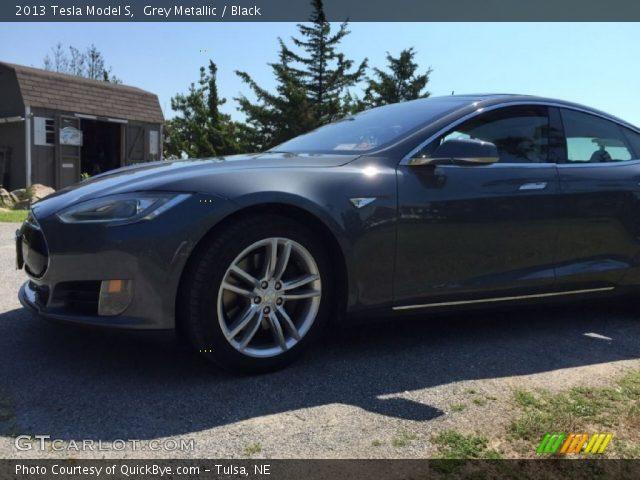 2013 Tesla Model S  in Grey Metallic