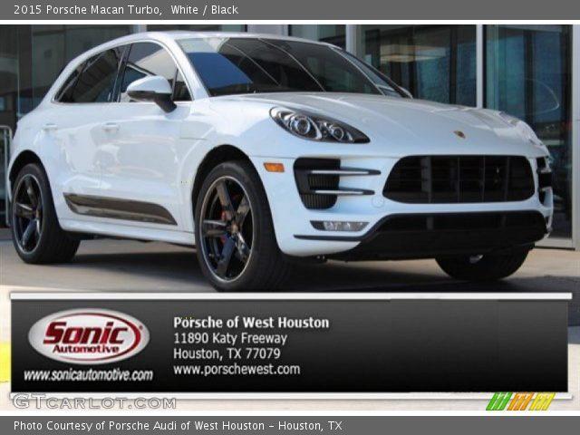 White 2015 porsche macan turbo black interior - Porsche macan white with red interior ...