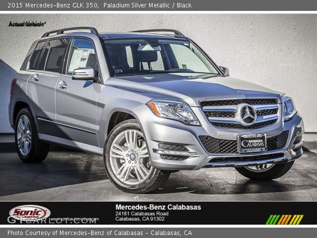 2015 Mercedes-Benz GLK 350 in Paladium Silver Metallic