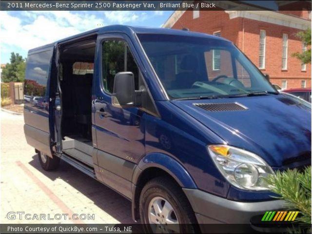2011 Mercedes-Benz Sprinter 2500 Passenger Van in Brilliant Blue