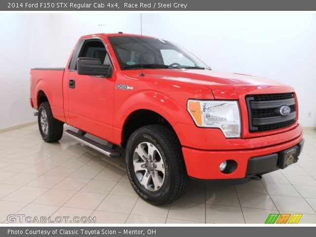 2014 Ford F150 STX Regular Cab 4x4 in Race Red