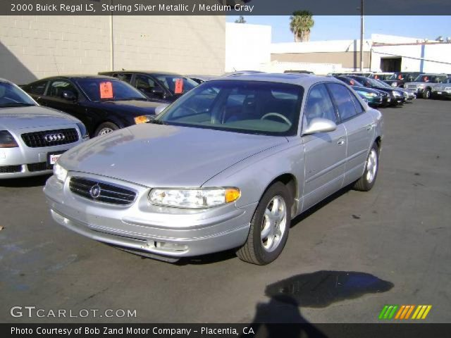 Sterling Silver Metallic - 2000 Buick Regal Ls