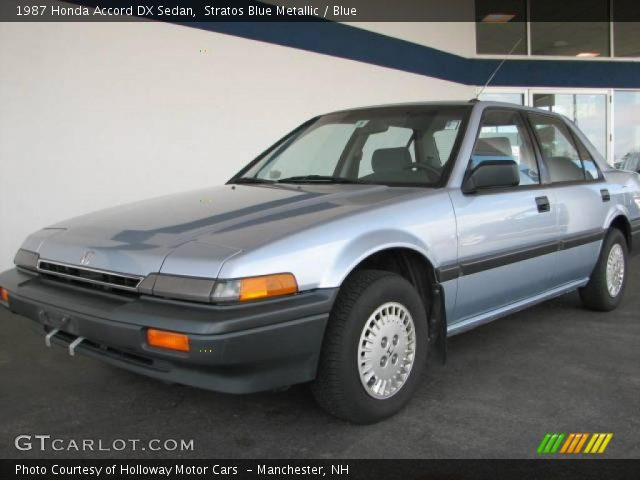 1987 honda accord. Metallic 1987 Honda Accord