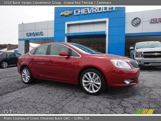 2016 Buick Verano Convenience Group in Crystal Red Tintcoat