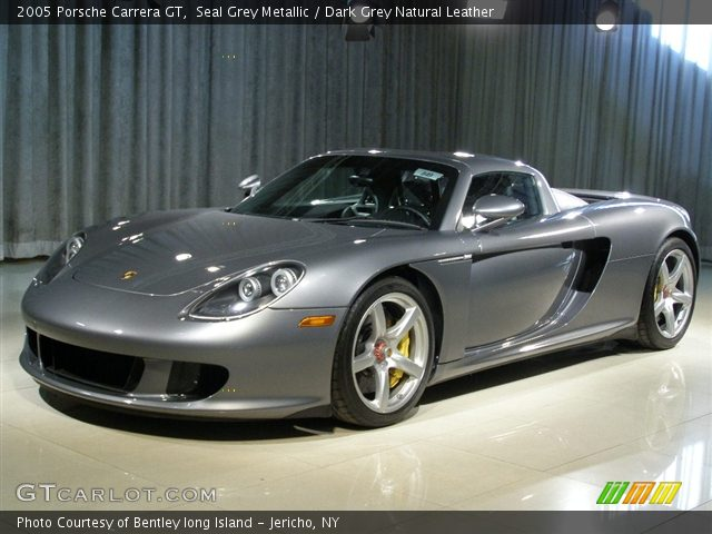 2005 Porsche Carrera GT  in Seal Grey Metallic