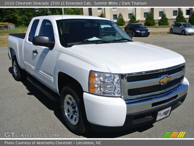 2010 Chevrolet Silverado 1500 LS Extended Cab in Summit White