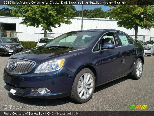 2016 Buick Verano Convenience Group in Dark Sapphire Blue Metallic