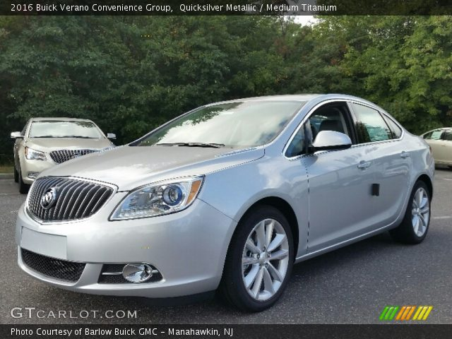 2016 Buick Verano Convenience Group in Quicksilver Metallic