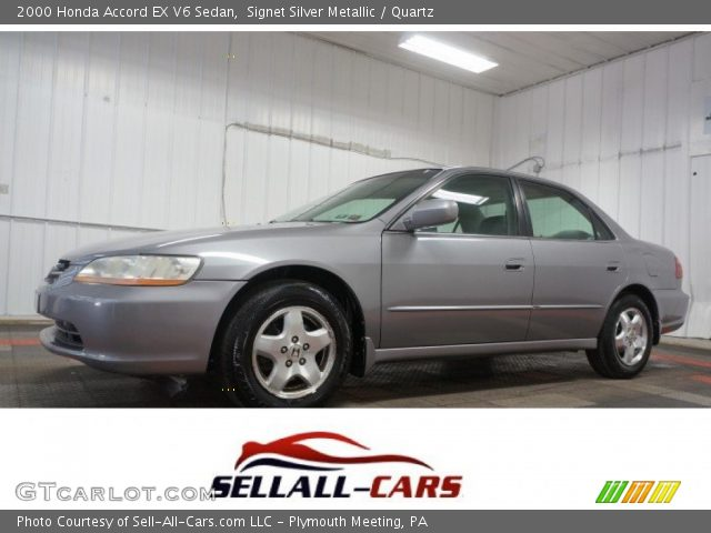 2000 Honda Accord EX V6 Sedan in Signet Silver Metallic
