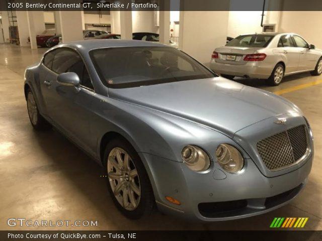 2005 Bentley Continental GT  in Silverlake