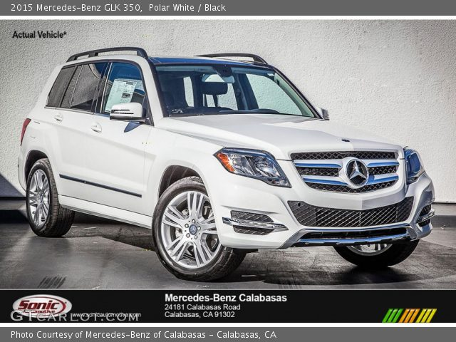 2015 Mercedes-Benz GLK 350 in Polar White