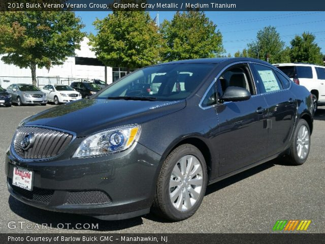 2016 Buick Verano Verano Group in Graphite Gray Metallic