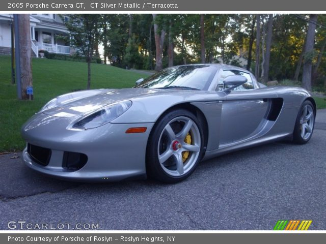 2005 Porsche Carrera GT  in GT Silver Metallic