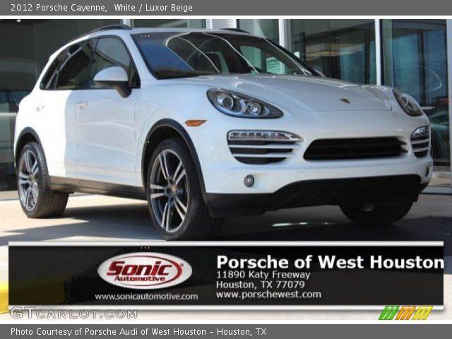 2012 Porsche Cayenne  in White