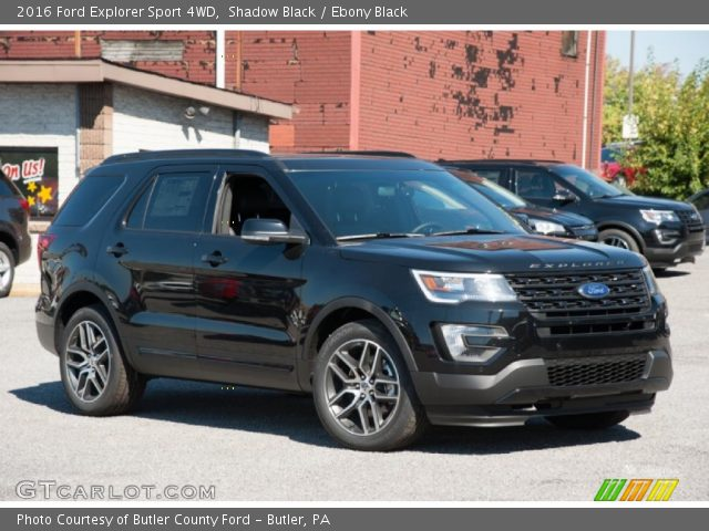 shadow black 2016 ford explorer sport 4wd ebony black interior vehicle. Black Bedroom Furniture Sets. Home Design Ideas