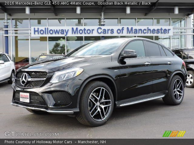 2016 Mercedes-Benz GLE 450 AMG 4Matic Coupe in Obsidian Black Metallic