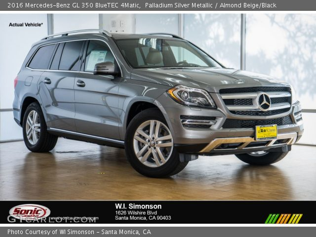 2016 Mercedes-Benz GL 350 BlueTEC 4Matic in Palladium Silver Metallic